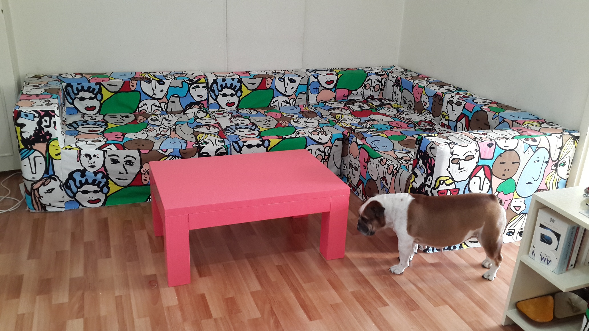 mobilya yenileme sehpa boyama