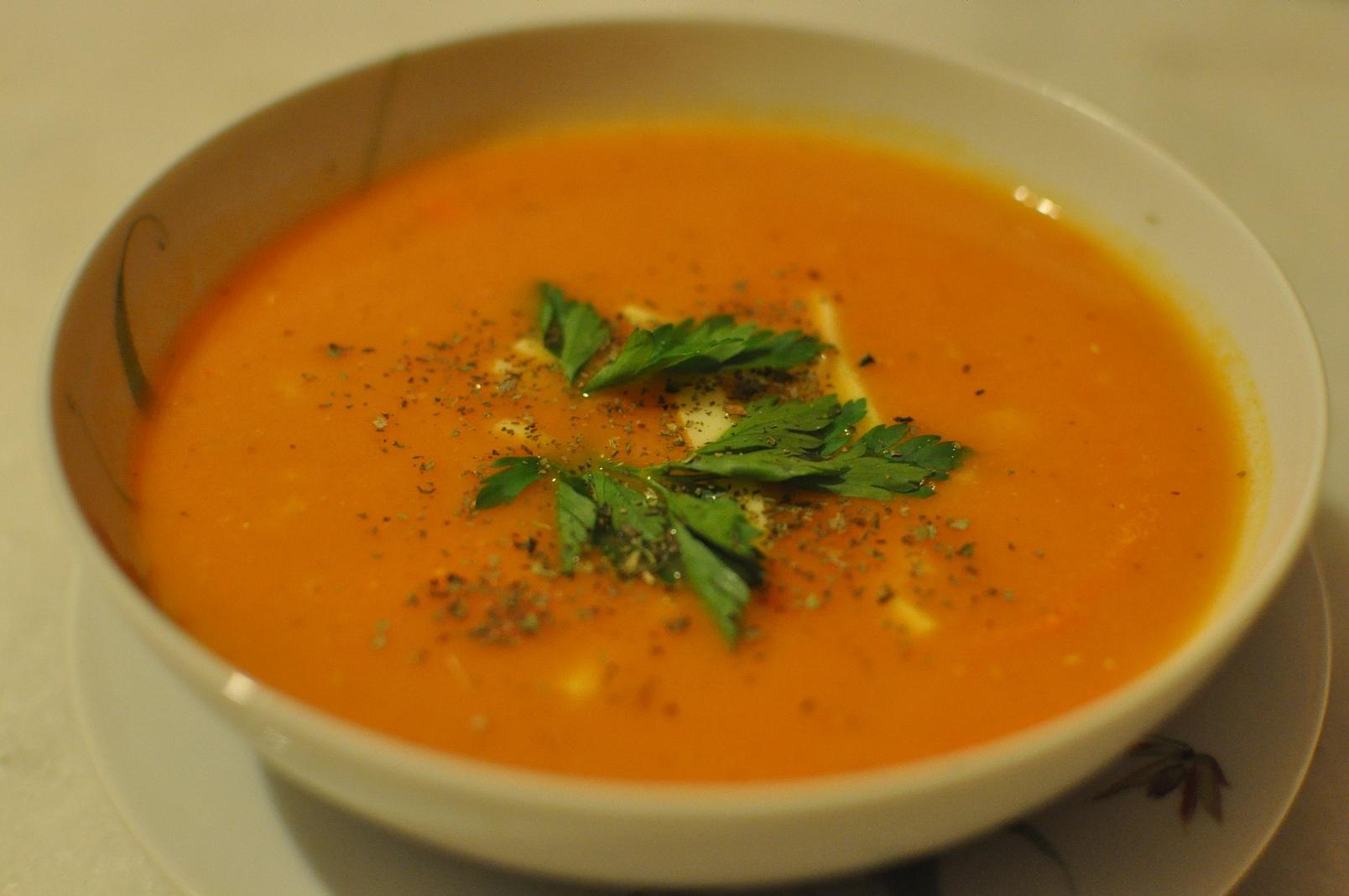 Domates çorbası (yulaflı) | bilgederki.com