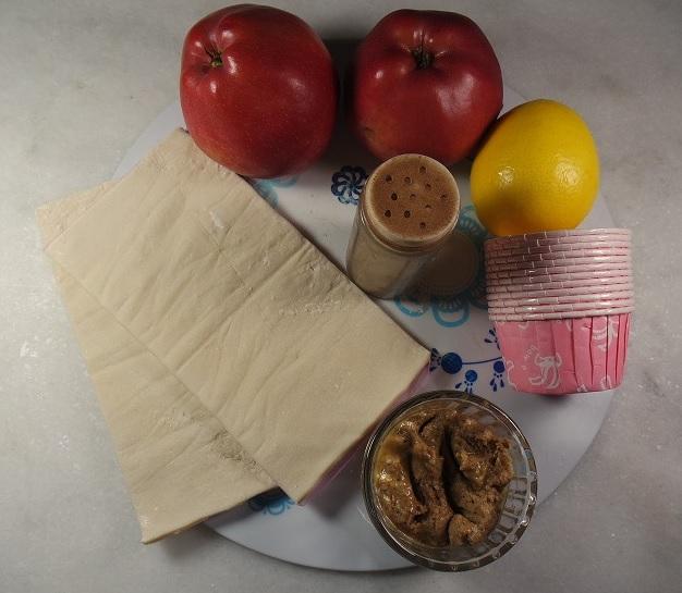 elmal gül kurabiye malzemesi