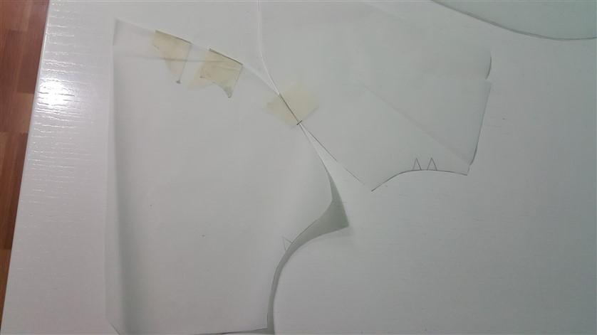 pelerin kalıbı yaka kısmı kullanımı