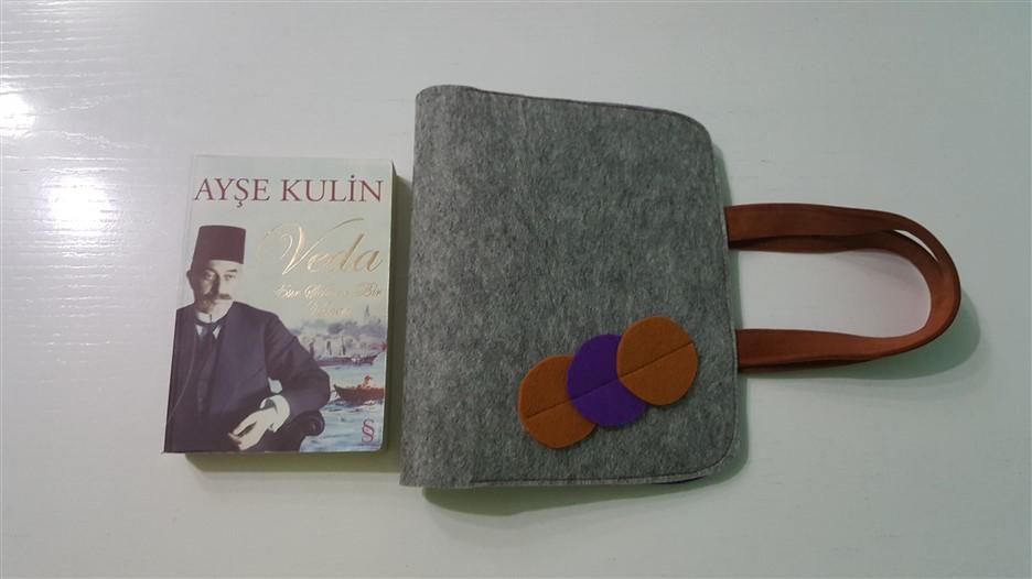 keçe kitap çantası