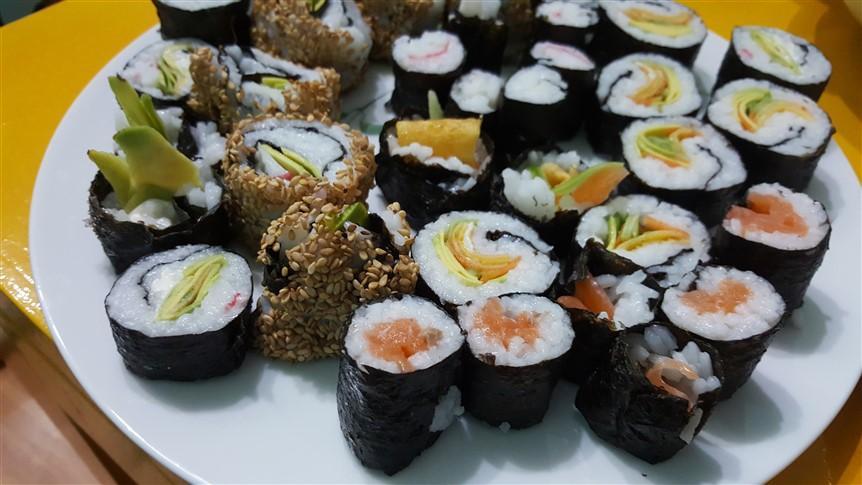 evde sushi yapımı