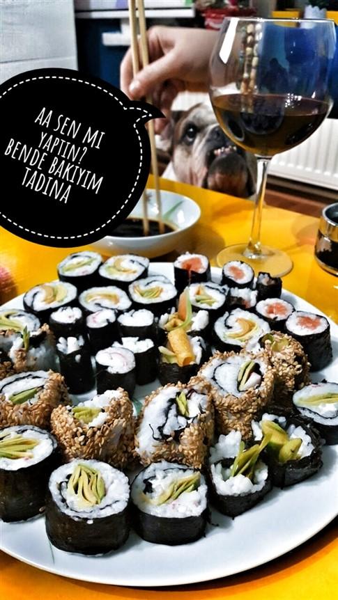 sushi nasıl yenir