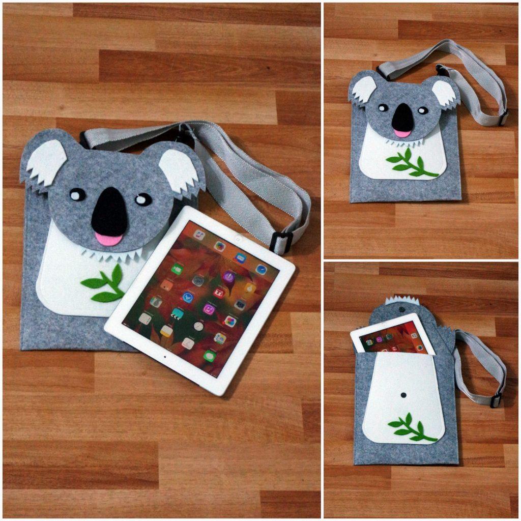 ipad tablet kılıfı koala çanta